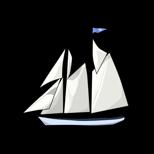 Boat Sail Sideways PNG Clip art