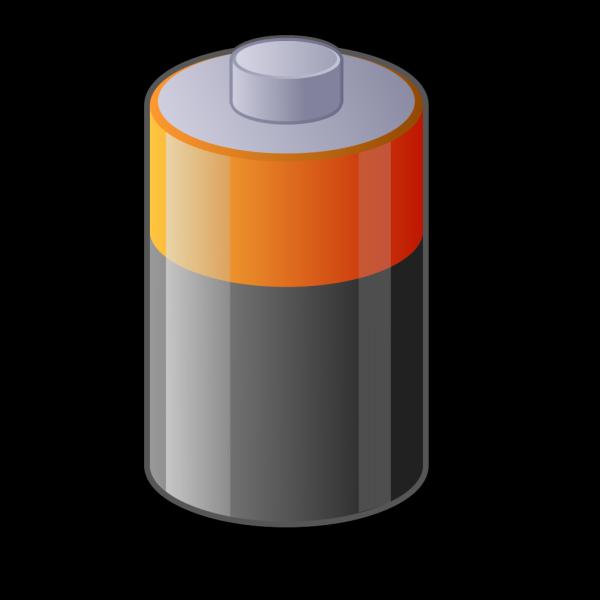 Battery 3 PNG Clip art