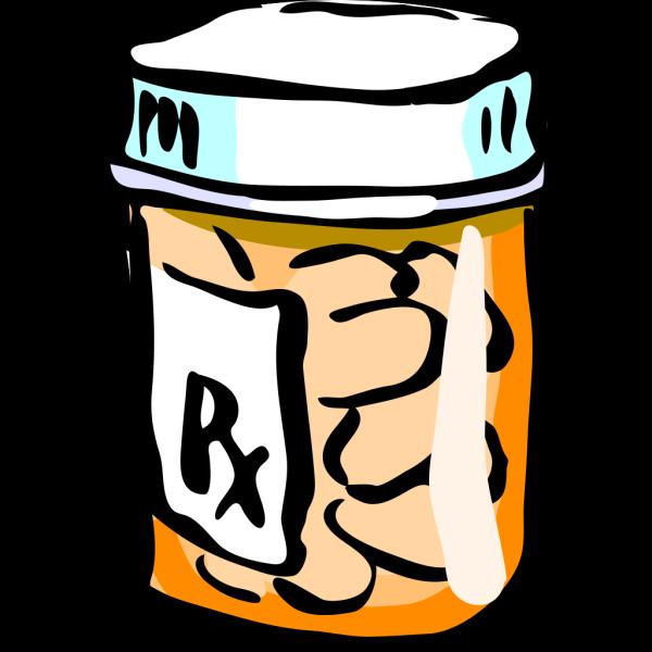 Medicine Jar PNG Clip art