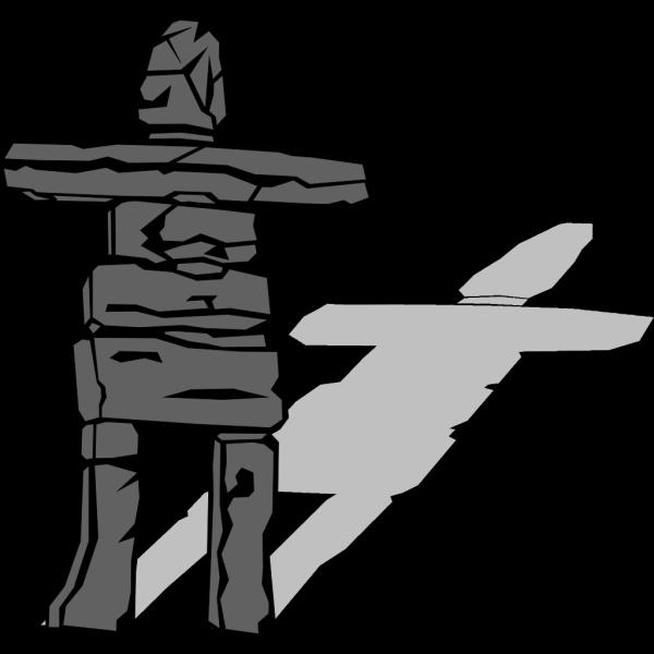 Inuit Inukshuk PNG Clip art
