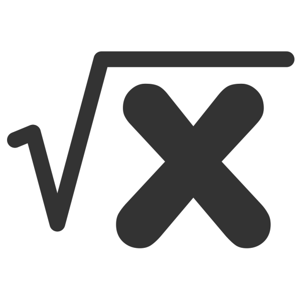 Square Root PNG Clip art
