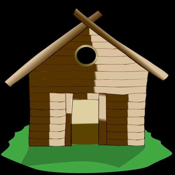Log Cabin PNG Clip art