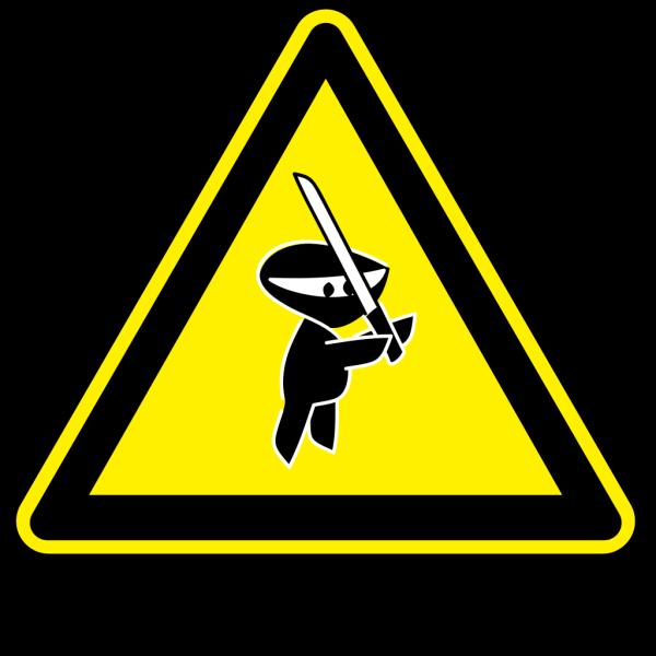 Ninja Sign PNG Clip art