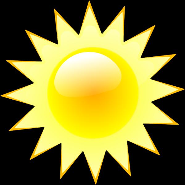 Simple Weather Symbols PNG Clip art