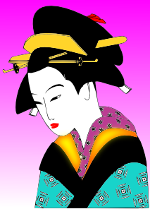 Japanese Woman PNG Clip art