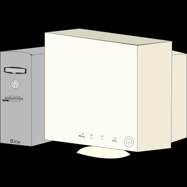 Cartoon Personal Computer PNG Clip art