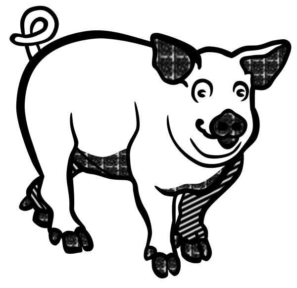 Laughing Pig 2 PNG Clip art