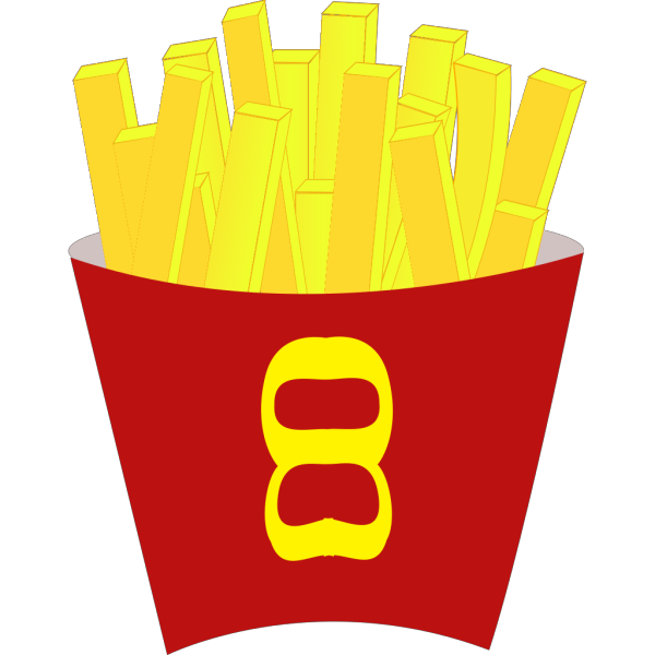 French Free Fries PNG Clip art