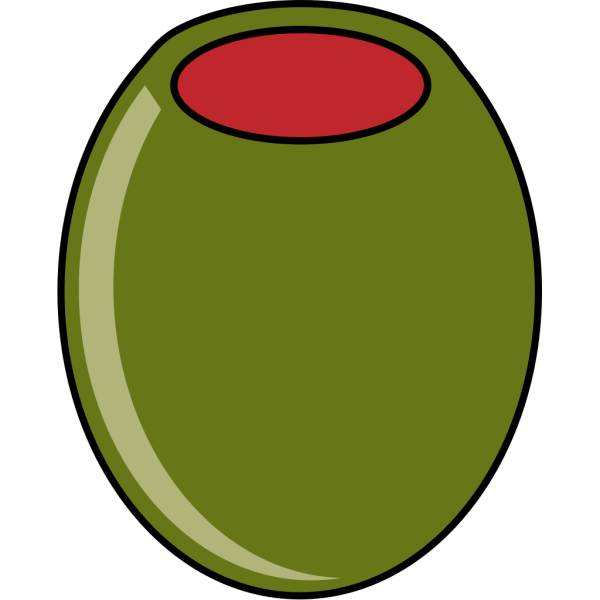 Green Olive PNG icons