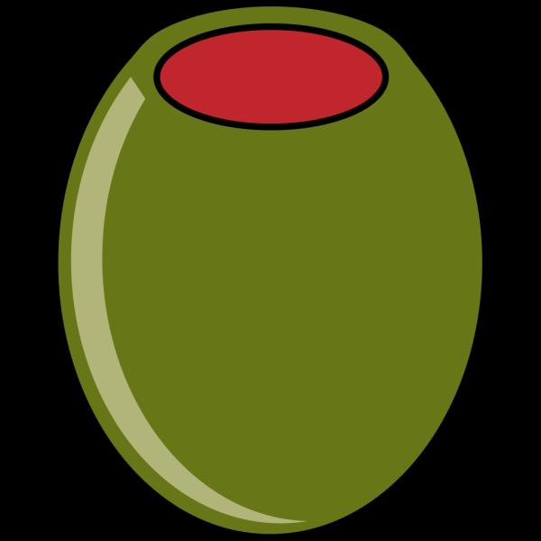 Green Olive PNG Clip art