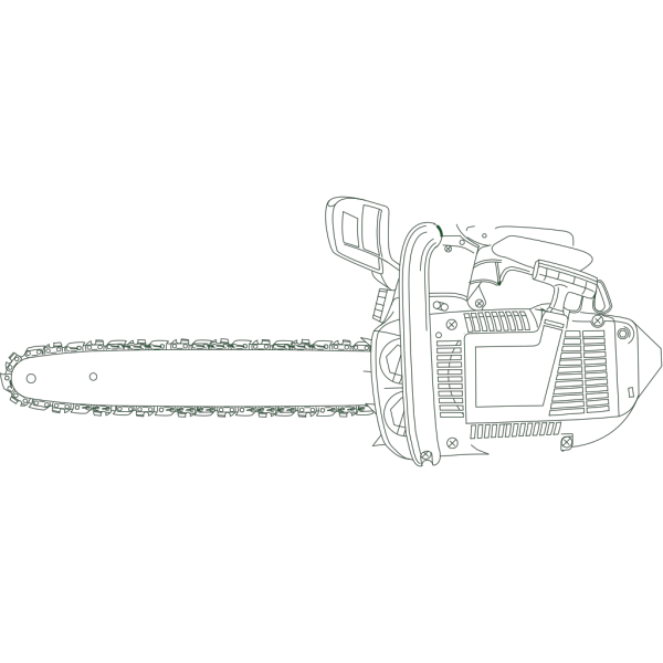 Chain Saw 	 PNG Clip art