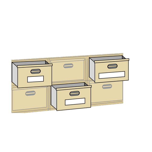 Furniture File Cabinet Drawers PNG images