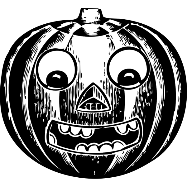 Jack O Lantern With Eyes PNG Clip art