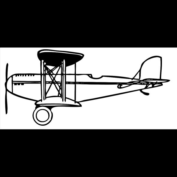 Plane Outline PNG Clip art