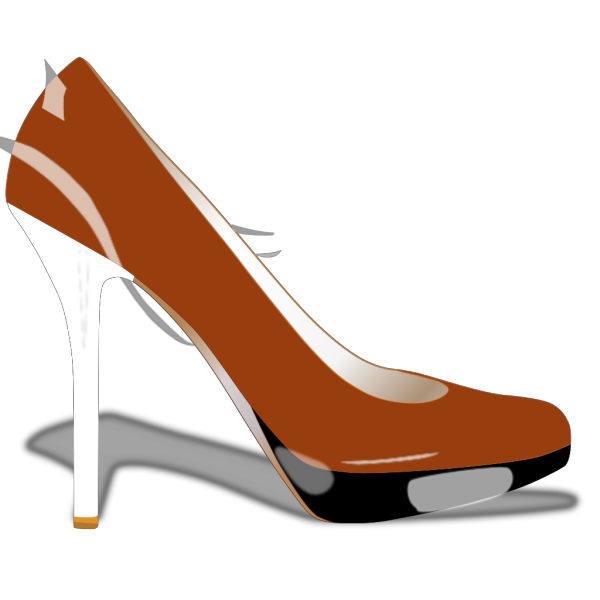 Red Patent Leather Shoe PNG Clip art