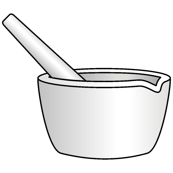 Mortar With Pestle PNG Clip art