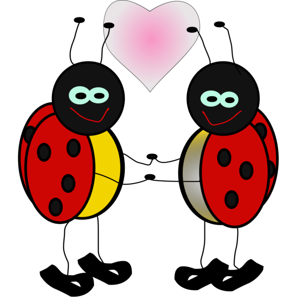 Ladybugs Cartoon PNG Clip art