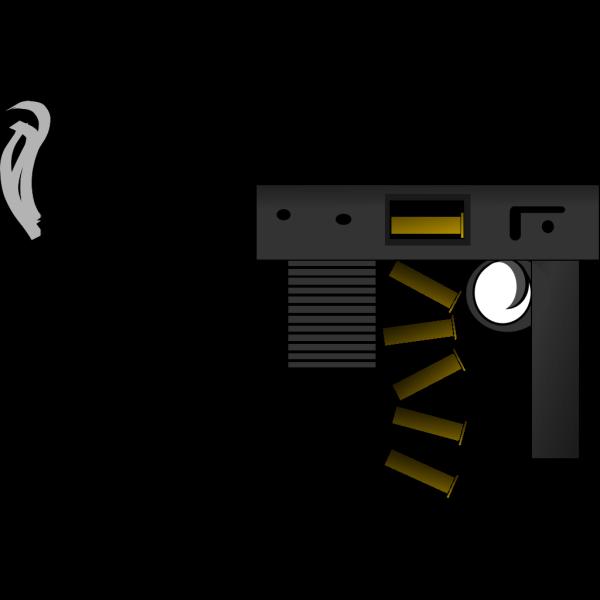 Automatic Gun 2 PNG Clip art