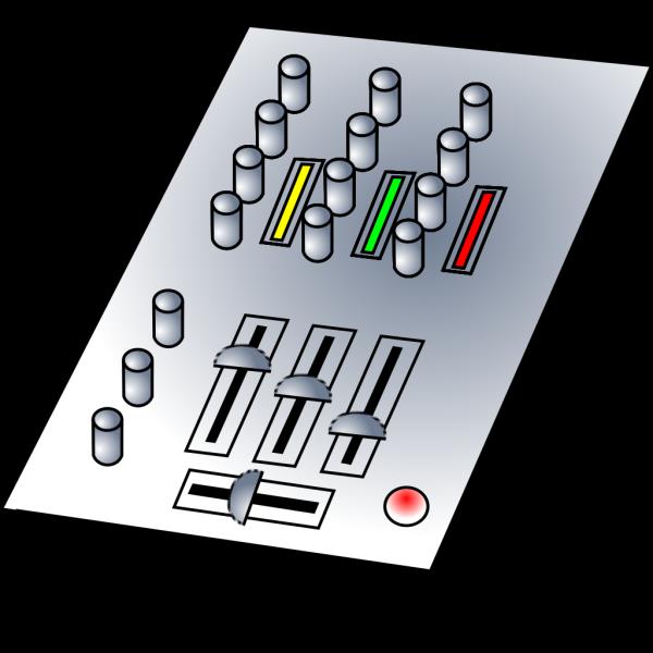 Dj Audio Mixer PNG Clip art