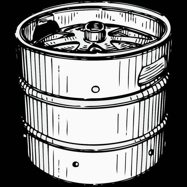 Beer Keg PNG Clip art