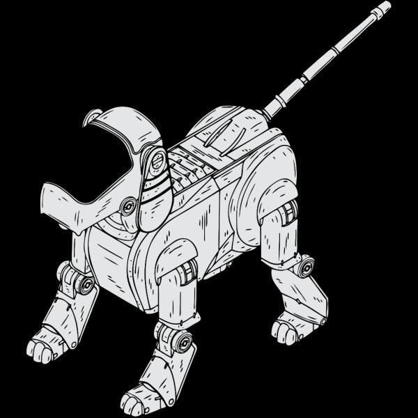 Robot Dog PNG Clip art