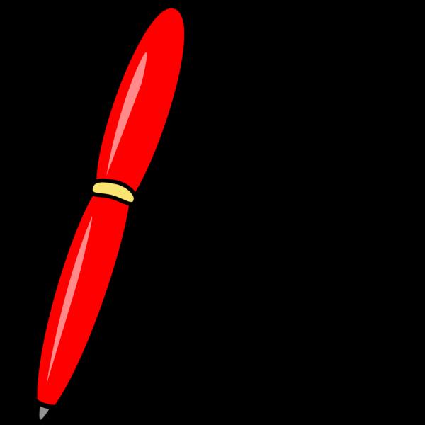 Red Pen PNG Clip art