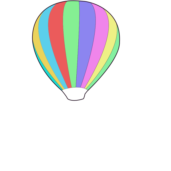 Hot Air Ballon PNG Clip art