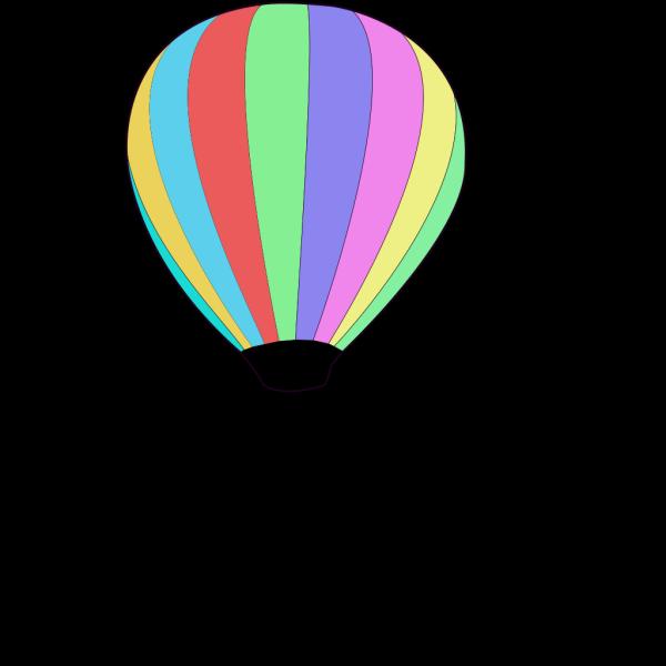 Hot Air Ballon PNG Clip art