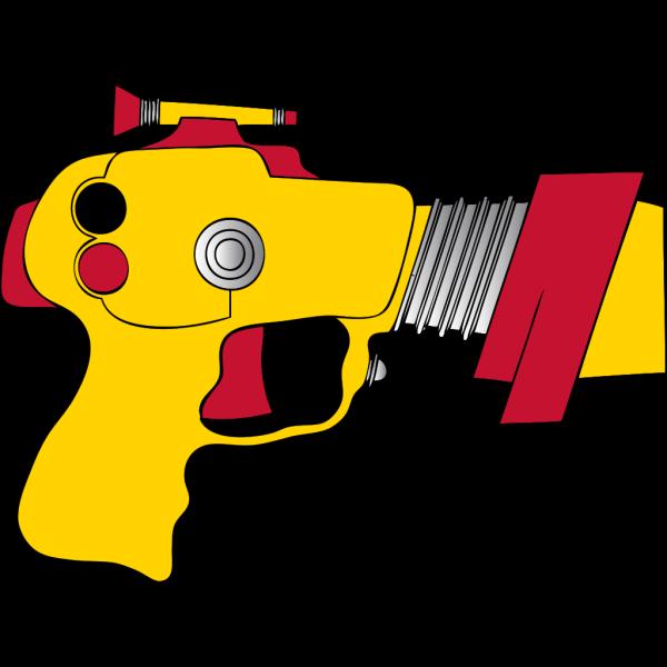 Laser Ray Gun PNG Clip art