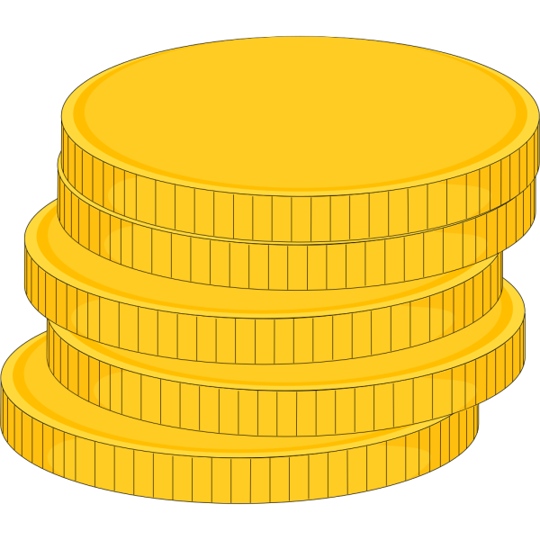 Money Stack Of Coins PNG Clip art