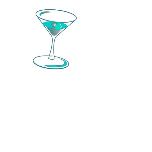 Liquor Glass Cup With Cherry PNG Clip art