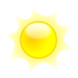 Summer Shining Sun PNG images