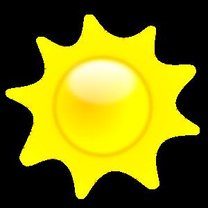 Summer Shining Sun PNG icon