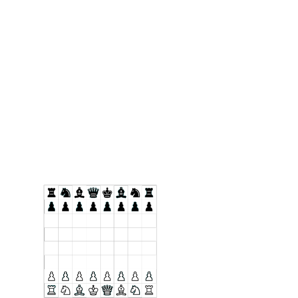 Chess Board And Pieces PNG Clip art