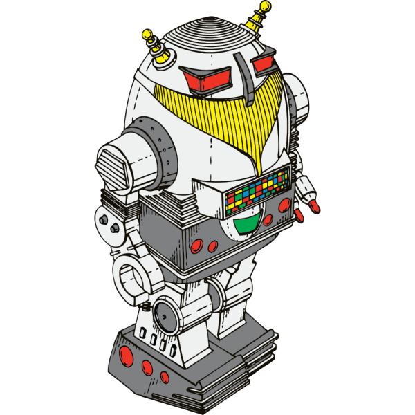 Toy Robot PNG Clip art