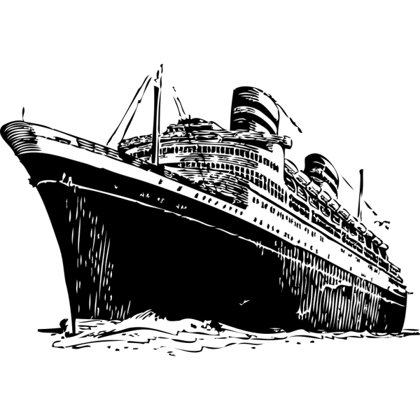 Ocean Liner PNG Clip art