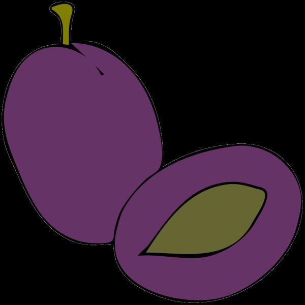 Plum Fruit Food PNG clipart
