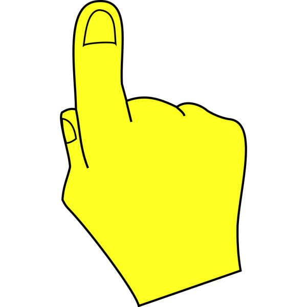 Pointing Hand PNG Clip art