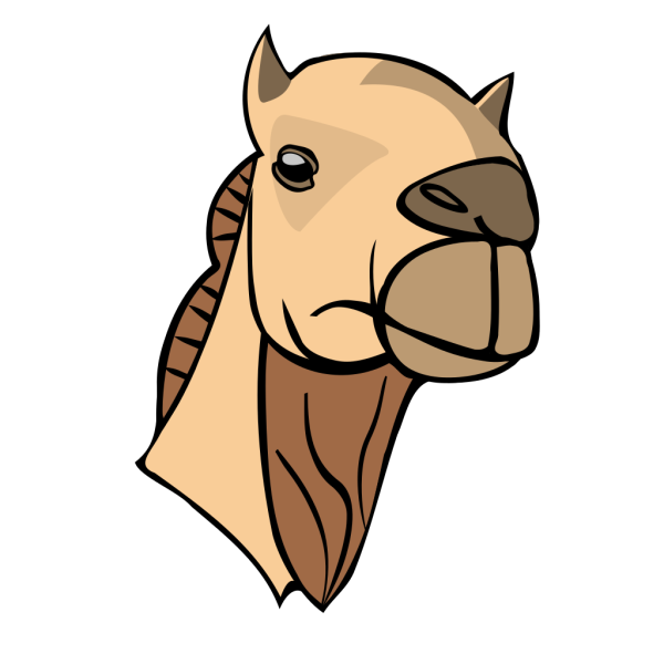 Camel Head PNG images