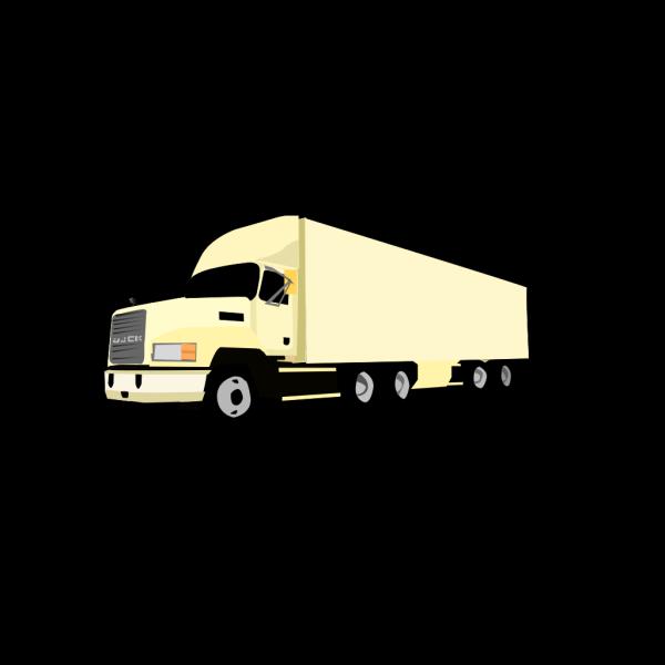 18 Wheeler Truck PNG Clip art