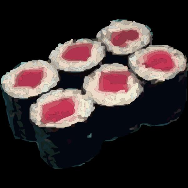 Tekka Maki Sushi PNG Clip art