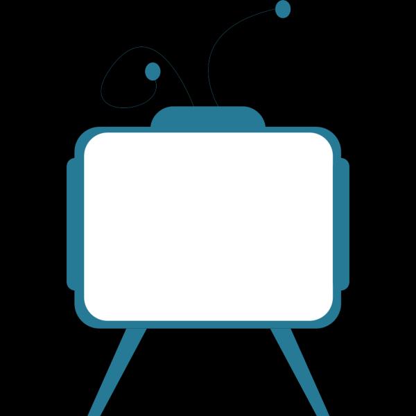 Old Styled Tv Set PNG Clip art