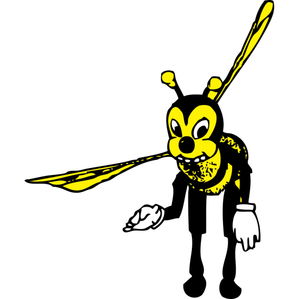 Bowing Bee PNG images