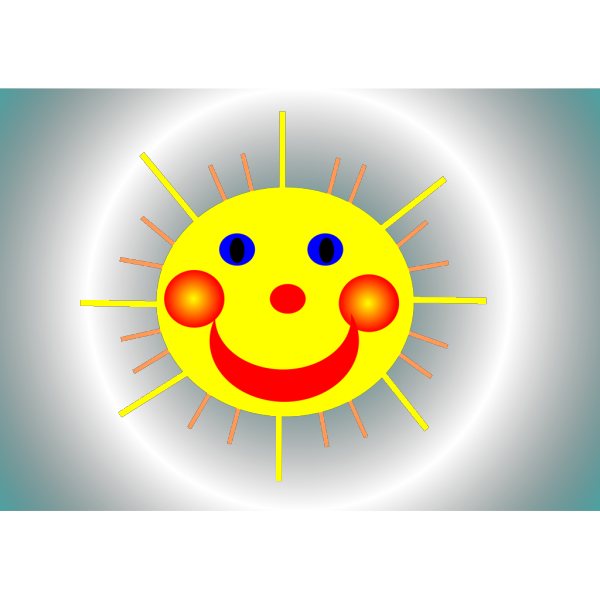 Smiling Sun PNG Clip art