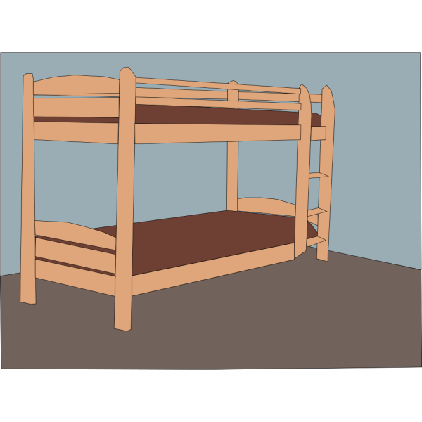Double Bed PNG Clip art