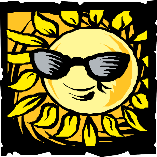 Sun In Shades PNG Clip art