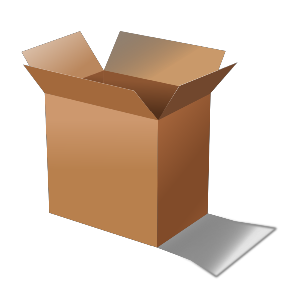 Cardboard Box PNG images