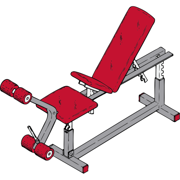Exercise Bench PNG image