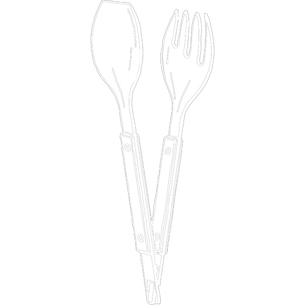 Salad Tongs PNG images