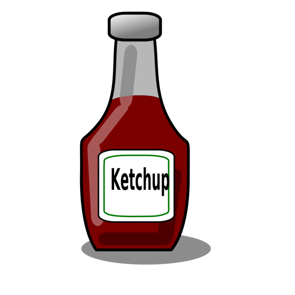 Hot Dogs With Break\d And Ketchup PNG Clip art